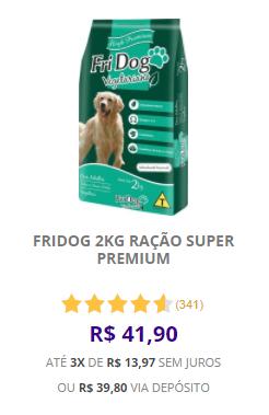 FriDog-Ração-Vegetariana-Super-Premium-2KG-R$41,90